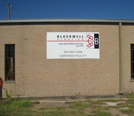 Blackwell Plastics Operation Earns ISO 9001:2008 Certification